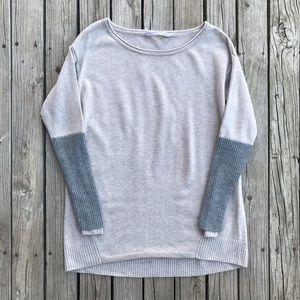 Athleta Colorblock Wool Sweater